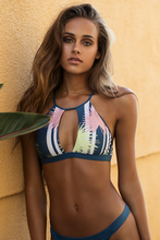 Load image into Gallery viewer, Palm High-Neck Bikini