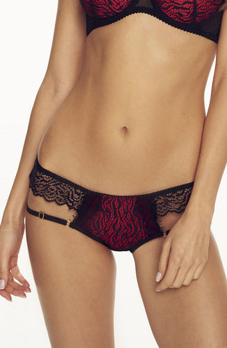 Lace and Eyelash Trim Briefs