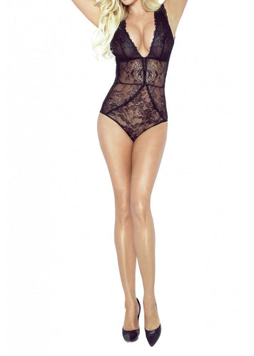 French Lace Sheer Body