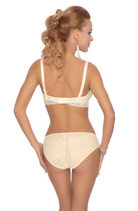 Fi Lace Soft Cup Bra In Cream