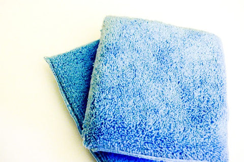 Detail Addict Blue Microfiber Applicator