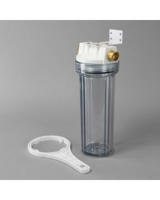 Water Softener Clear Garden Hose Filter Housing