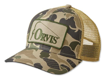 Retro Orvis Ball Cap - Camo