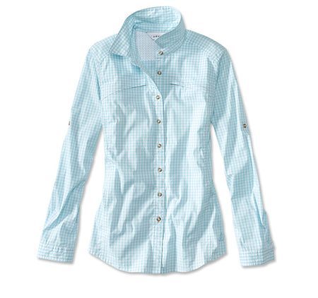 River Guide Tech Gingham Shirt - Clearwater