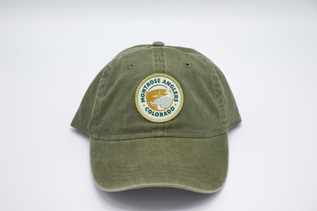 Montrose Anglers Cap Canyon Conifer Woven Patch