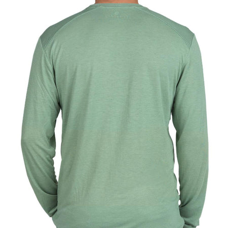 Men's Bamboo Lightweight Long Sleeve Spartina Green