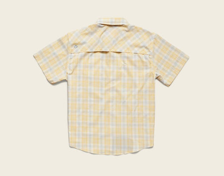 Matagorda Shortsleeve - Shoreline Plaid