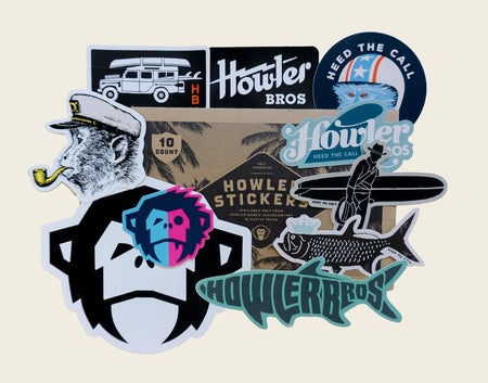 Howler  Brothers Sticker Pack