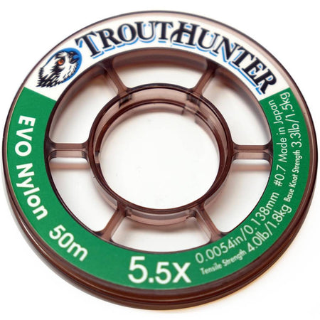 TroutHunter EVO Nylon Tippet 50m
