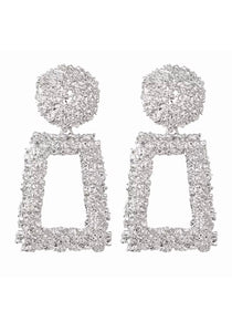 Statement Earrings Silver
