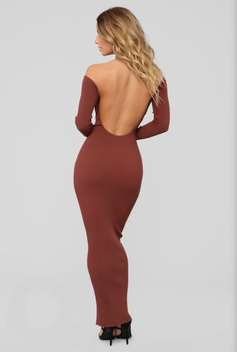 Hang With Me Open Back Dress