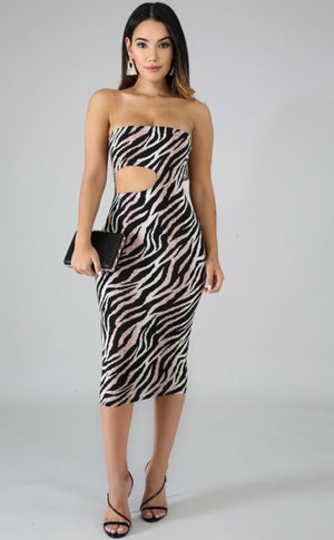 Wild Things Midi Dress