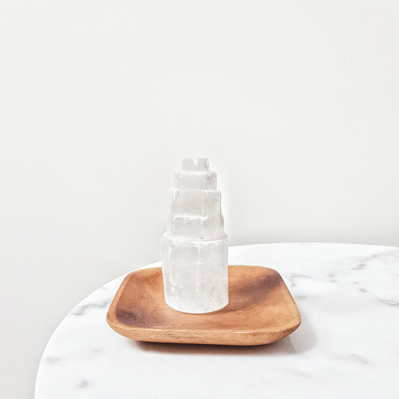 Selenite Tower Small