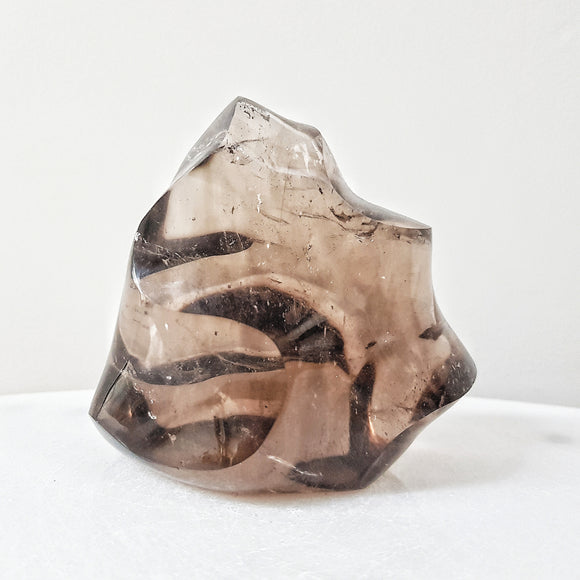 Smokey Quartz Flame