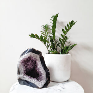 Large Amethyst Geode Sculpture