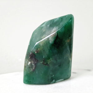 Green Opal Polished Sculpture