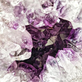 Amethyst Geode Sculpture Crystal