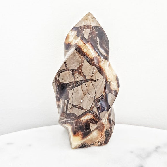 Septarian Flame Crystal Dragons Stone