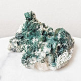 Mossy Green Apophyllite Crystal