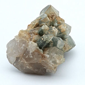 Himalayan Quartz Cluster with Green Chlorite