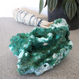 Fiberous Malachite and Chrysocolla Specimen