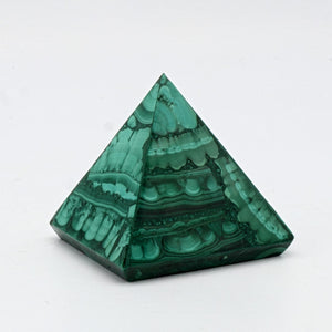 Malachite Polished Pyramids