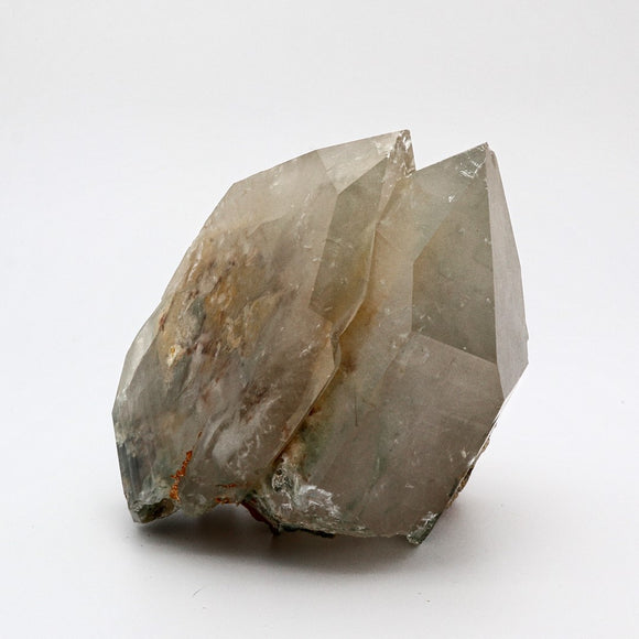 Smokey Quartz with green chlorite