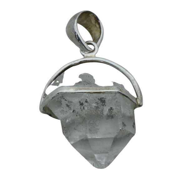 A Herkimer Diamond Pendant (medium)