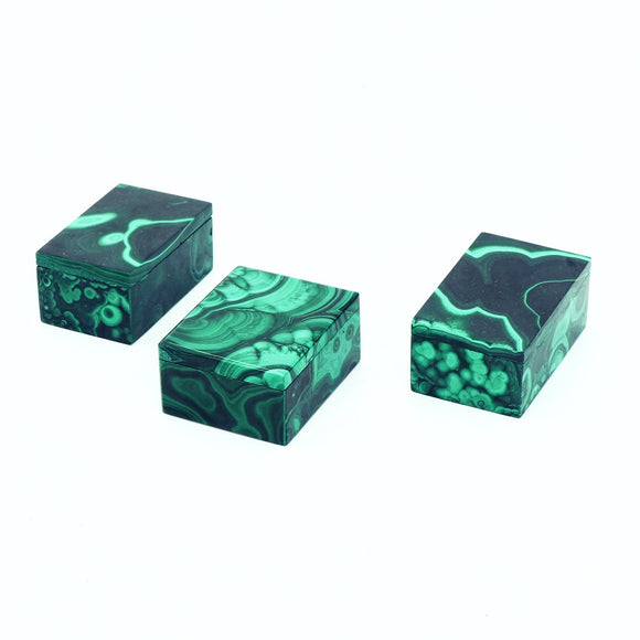Malachite Boxes Small