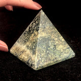Green Serpentine Pyramids