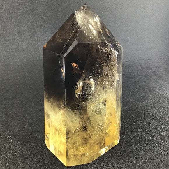 Citrine Points Madagascar (lighter)