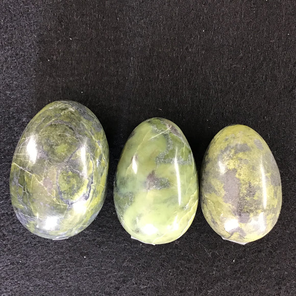 Green Serpentine Eggs