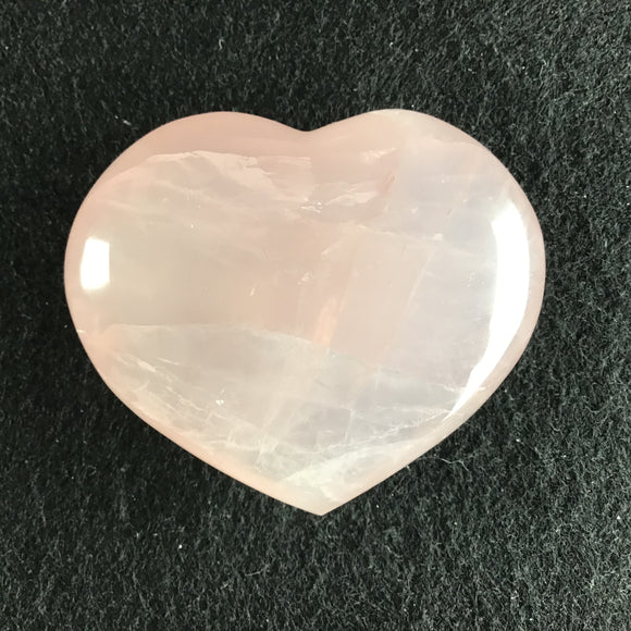 Rose Quartz Hearts Large