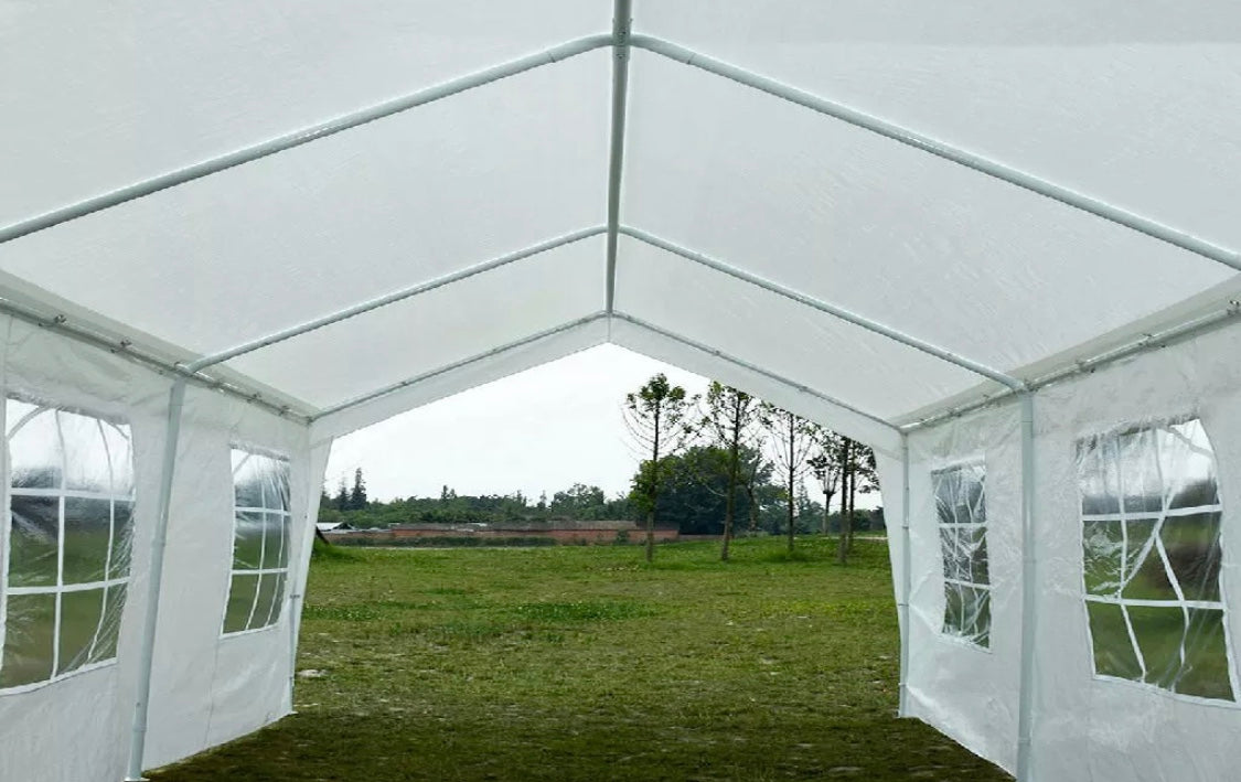 20'X20' Heavy Duty Wedding Party Tent with wall, storage bages included