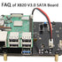 "FAQ of  Raspberry Pi X820 V3.0 USB 3.0 2.5"" SATA HDD/SSD Storage Expansion Board"