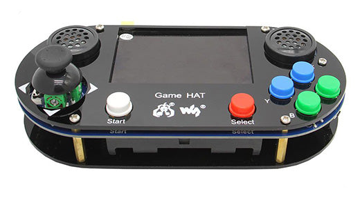 How to Use Raspberry Pi RetroPie Handle Game Console Gamepad with 3.5 inch 480 x 320 IPS Screen?