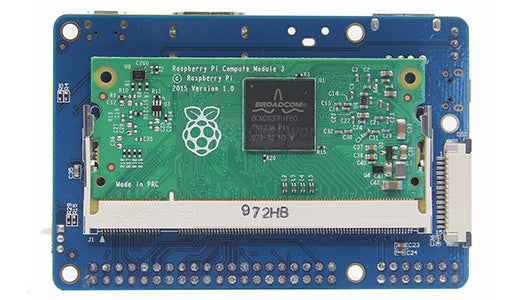 Raspberry Pi Release the Newest CM3+ Third-generation Compute Module 3+ with 32GB/16GB/8GB eMMC Storage