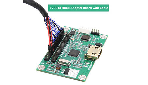 New Version LVDS to HDMI Adapter Board