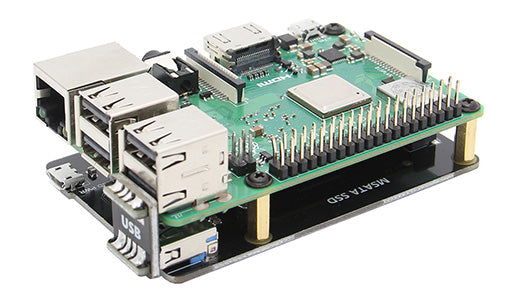 The New V3.0 Version of Raspberry Pi X850 mSATA SSD Extension Board Has been Released in October