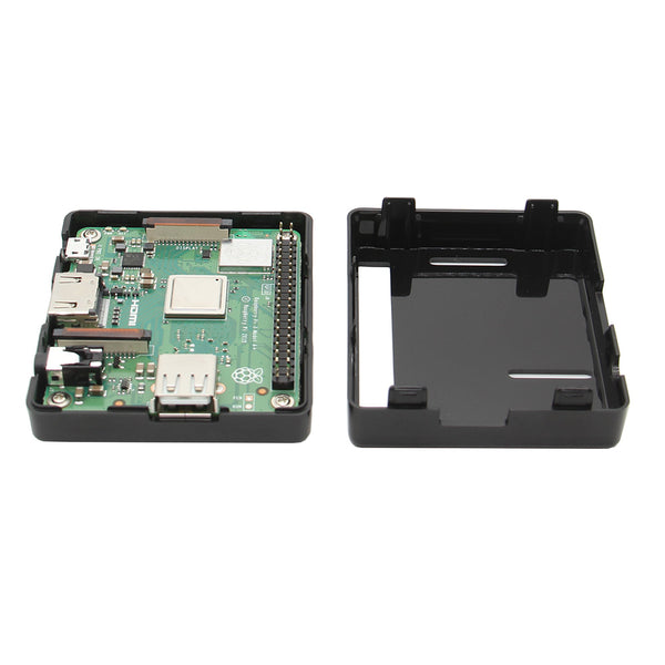 Black color Raspberry Pi 3 Model A+ Use ABS Case
