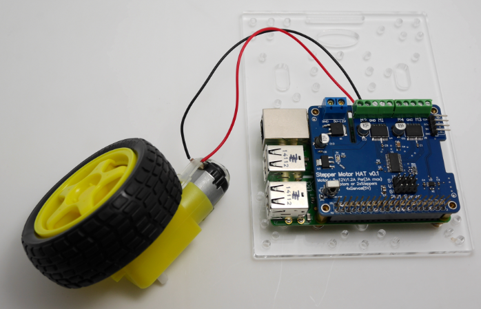 raspberry pi motor hat