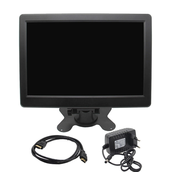 Raspberry Pi 4 Model B 10 inch 2K 2560x1600P FHD Monitor IPS Wide Angle Screen with Bracket and Power Supply