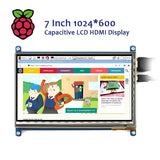 Raspberry Pi 7 Inch 1024x600 HDMI Capacitive Touch Screen w/ Acrylic Stander Kits