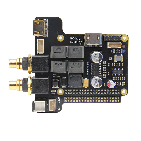 Raspberry Pi 3 Model B X5000 ESS Sabre DAC ES9023 Audio Player
