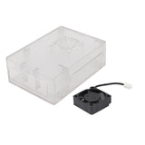 Raspberry Pi 3 ABS Case with Cooling Fan for Pi 3B+ / 3B / 2B /B+