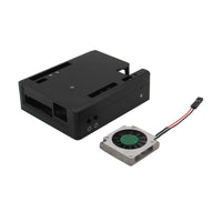 Geekworm LattePanda V1.0 Aluminum Alloy Case CNC Enclosure & Cooling Fan Set