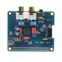 Raspberry Pi PCM5122 HIFI DAC+ Audio Card Compatible with Raspberry Pi 4B/3B+/3B