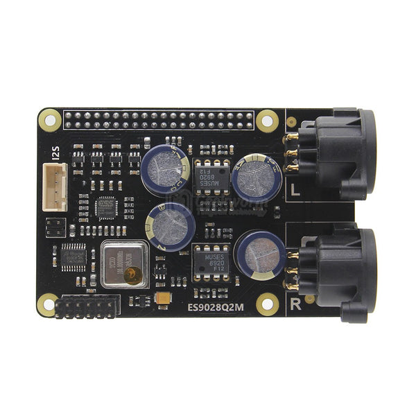 Raspberry Pi X20-XLR Hifi Audio Kit (X20-XLR ES9028Q2M Board