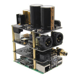 Raspberry Pi X20-XLR Hifi Audio Kit (X20-XLR ES9028Q2M Board + X10-I2S Board + X10-PWR Power Supply Board)