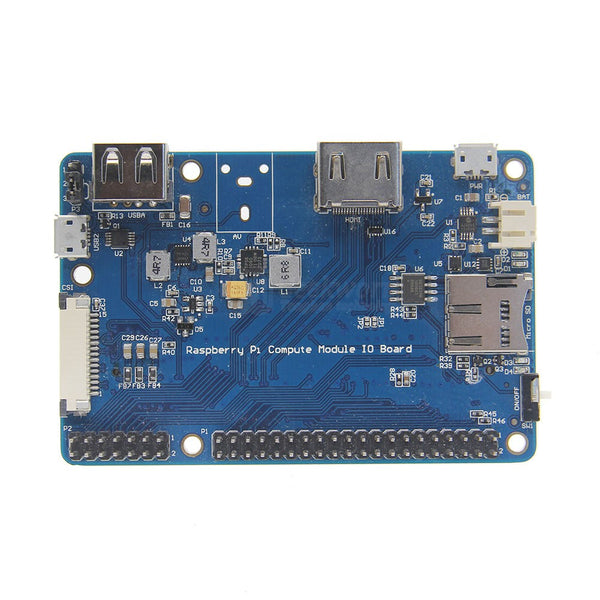 Raspberry Pi CM3+/CM3/CM3L IO Expansion Board for Raspberry Pi Compute Module 3 / 3 Lite